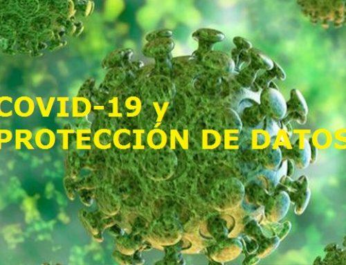 ESPECIAL: Coronavirus y datos personales
